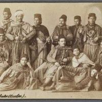 1850 – Des acrobates marocains en France